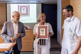 Výtvarníci poděkovali personálu Fakultní nemocnice Bulovka