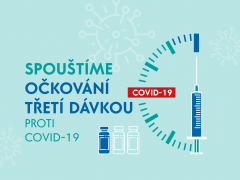 Spouštíme očkování třetí dávkou proti onemocnění COVID-19