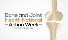 Světový týden kostí a kloubů odstartoval 12. října