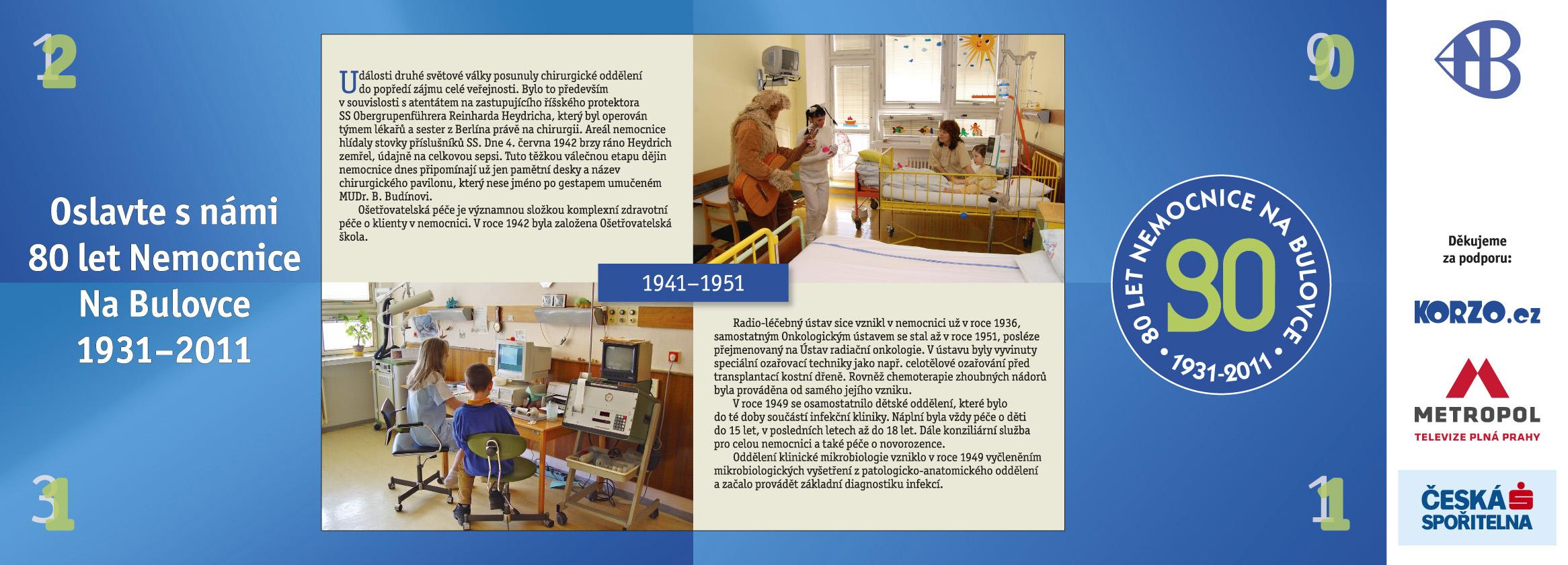 80 let Nemocnice na Bulovce